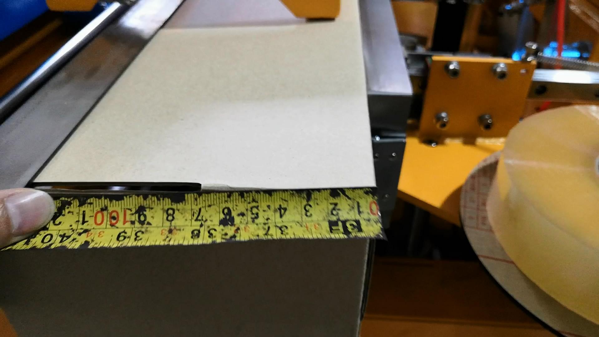 纸箱高度69mm高速开箱机
